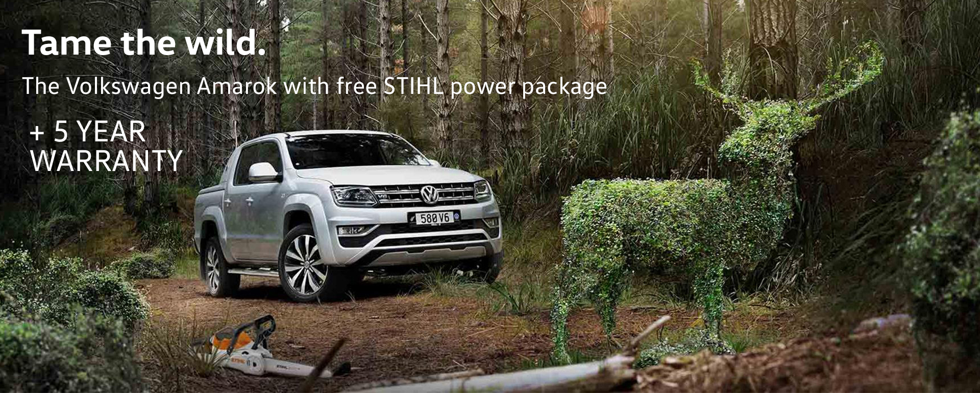 VW Stihl Offer
