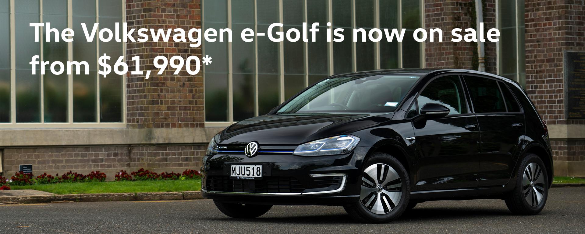 e-golf sale